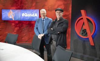 After 12 years, Q&A's presenter Tony Jones and executive producer Peter McEvoy are leaving the show.