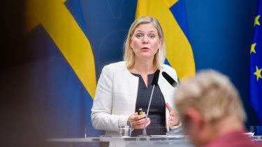 Sweden's finance minister Magdalena Andersson delivers her budget next week.