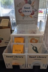 Seed Library box from Moonee Valley Libraries