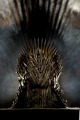 The Iron Throne: cause of so much angst.