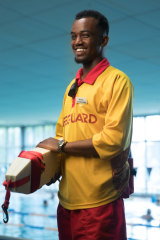 Abdullahi Mohamed works is one of a small amount of lifeguards with an African background employed by the YMCA.