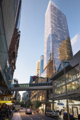 An artist's impression of how the new tower would look.