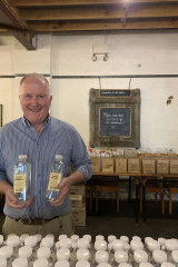 Neil Druce is the owner of Corowa Distilling Co and Junee Licorice & Chocolate Factory.