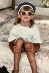 """As a child, Victoria was known  for her """"fiercely independent""""  and """"random"""" clothing choices."""