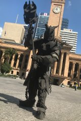 Wrath hits King George Square.