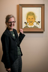 The portrait is set to go to auction, with a price estimate set from $400,000 to $600,000.