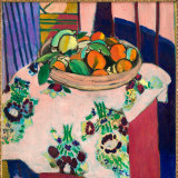 Nature mortre aux oranges (1912) by Henri Matisse.