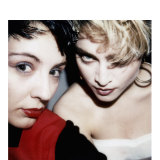 Maripol poses with Madonna in one of her own Polaroids.