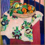 Henri Matisse's Still Life with Oranges, (1912).