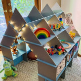 The Creative Cubby is fun, and doubles as storage.