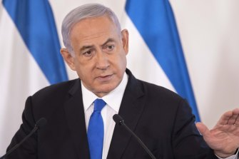 Set to be ousted: Israeli Prime Minister Benjamin.