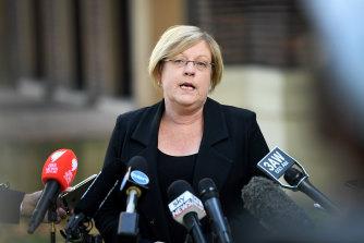 Water Minister Lisa Neville.