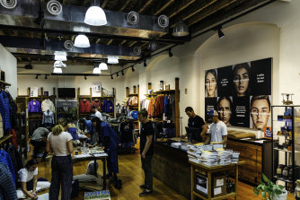 Patagonia's Sydney flagship store.