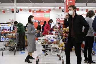 Panic buying will be a thing of the past by Christmas, according to the head of Coles.