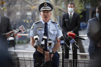 NSW Police Force Commissioner Mick Fuller says the force has not given up hope of finding those responsible for the tragic Luna Park fire that occurred 42 years ago.