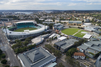 Independent member for Sydney Alex Greenwich said he was concerned that the Entertainment Quarter at Moore Park would be turned into a cash-cow.