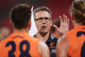 "GWS Giants coach Leon Cameron says his players who aren't picked for AFL duty are ""itching"" to play at some level."