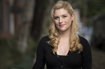 Actor and singer Lucy Durack starred in the recently-cancelled stage show Shrek: The Musical.