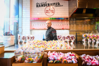 Red Balloon lolly shop owner Pascal Menezes is closing his Prahran store and moving his artisan business online.