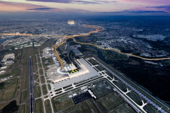 Federal aviation agency, Airservices Australia said the majority of 42 flights path amendments between the 2007 environmental impact study and those in place when the airport reopened in July 2020 were too high (between 15,000 and 20,000 feet) to cause noise complaints.