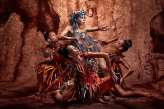 Bangarra is touring its latest work, Sandsong, to regional Australia.