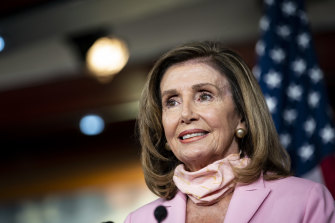 US House Speaker Nancy Pelosi called the rare session.