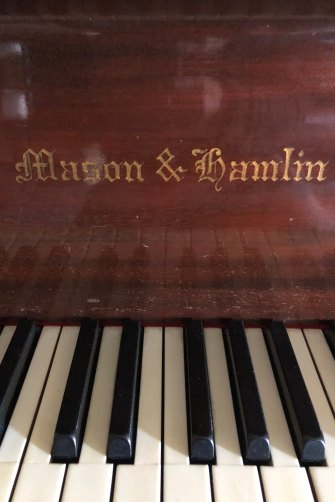 The Mason & Hamlin piano Leser's grandparents bought in the 1920s in Boston at the prompting of two musical geniuses.