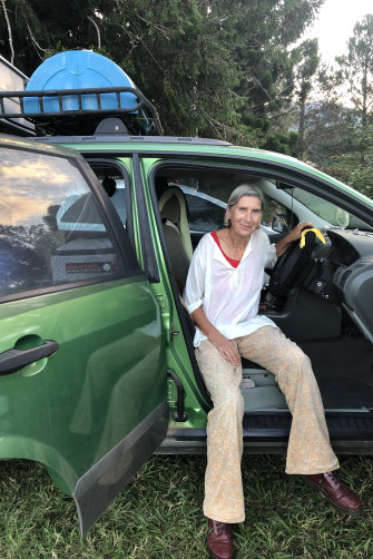 Nada Loiterton has lived in her car for three years.
