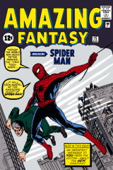 The first Spider-Man comic book from Marvel Comics.