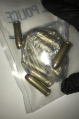 Ammunition, which police allegedly seized from Alexander Victor Miller on Tuesday night.