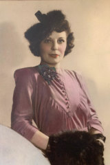 Marilyn White's mother, Constance Elena White (nee Jeffery), as a young woman.