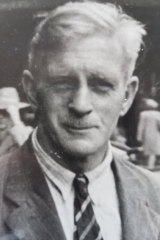"""The author's father (christened """"FNick"""" by his sons) in Auckland in the late 1940s."""