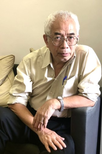 Veteran journalist Ching Cheong, who spent more than three years in jail in China on espionage charges from 2005, which he says were sparked by an article he wrote that angered Chinese authorities.