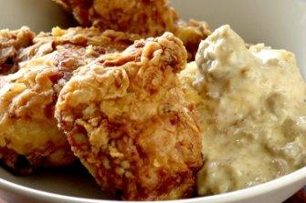 Mmmm... fried chicken...