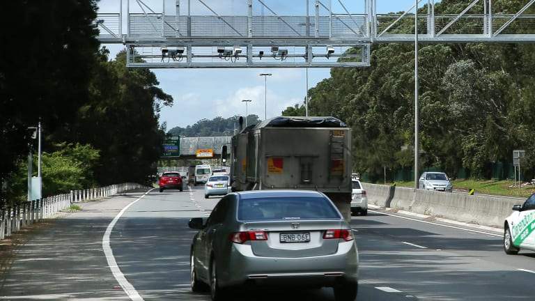 Point-to-point speed cameras, similar to these in New South Wales, will be installed over major Queensland roads.