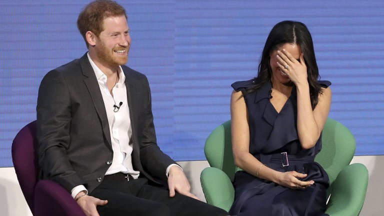 Prince Harry admitted that working with his family was sometimes difficult.