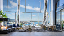 The growing number of ultra-rich Australians fuels demand for prime real estate like the Crown Residences at One Barangaroo in Sydney. It's understood the entry price for an apartment at the Crown Residences is $9.5 million.