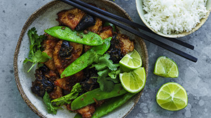 Neil Perry's Thai-style pork stir-fry