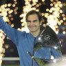 Unbeaten ton: Federer beats Tsitsipas to claim title No.100