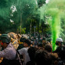 Candle-lit vigils defy Myanmar curfew as US evacuates some embassy staff