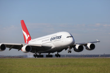 Qantas has 12 A380 aircraft in its fleet.