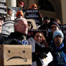 'This will get Trump re-elected': Amazon dumps New York, sparking elation, outrage