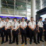 Security net descends on Hong Kong airport