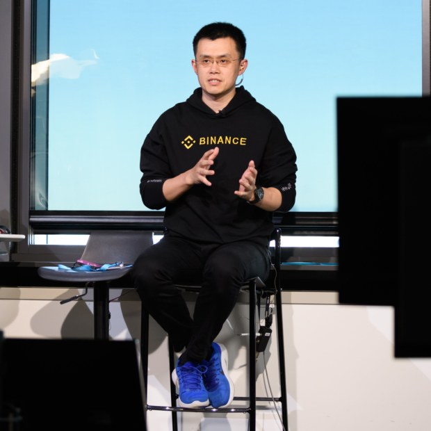 The wealth of Binance founder and CEO Changpeng Zhao  was valued by Forbes at almost $US2 billion when bitcoin was on the ascent in March.