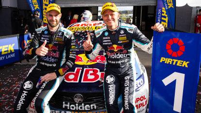 Red Bull Holden's van Gisbergen triumphs at Bathurst