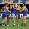 Eagles hold on against gallant Saints as King kicks six