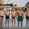 Swimming with men: The Melbourne 'Fab Five' defying the statistics