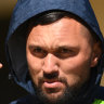 Hodgson questions NRL block on Rapana's return after rugby stint