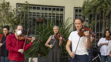 Unable to play for their supper: casual musicians of Opera Australia.