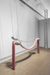 Reminscent of Louise Bourgeois but inspired by a New Age mother: 'edges of excess' by Kate Bohunnis.